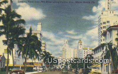 29th Street - Miami Beach, Florida FL Postcard