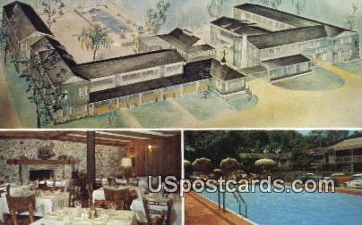 Town House Motor Hotel - Pensacola, Florida FL Postcard