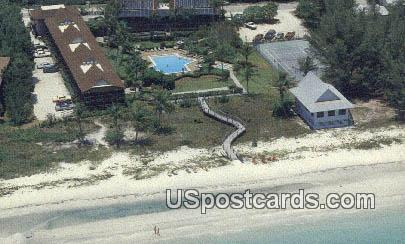 Surfrider Beach Club - Sanibel Island, Florida FL Postcard