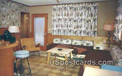 Atlantic Court Motel - Coral Gables, Florida FL Postcard