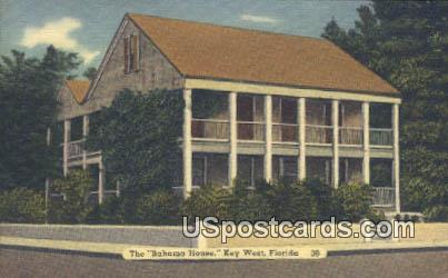 Bahama House - Key West, Florida FL Postcard