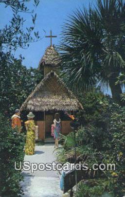 Garden Chapel - Indian Rocks Beach, Florida FL Postcard