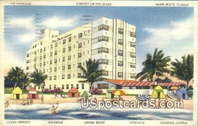 The Patrician Hotel - Miami Beach, Florida FL Postcard