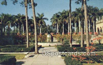 Mechelangelo's David Bronze - Sarasota, Florida FL Postcard