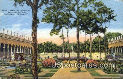 Ringling Museum of Art - Sarasota, Florida FL Postcard
