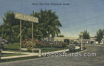 The Circle - Hollywood, Florida FL Postcard