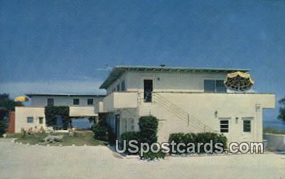 Coquina Shores Apartments - Indian Rocks Beach, Florida FL Postcard