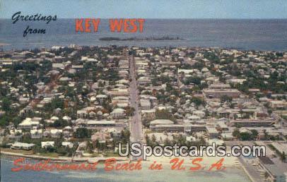 Key West, FL Postcard     ;     Key West, Florida