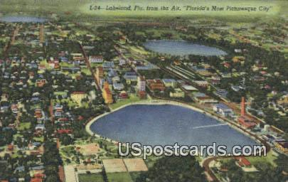 Lakeland, FL Postcard     ;     Lakeland, Florida