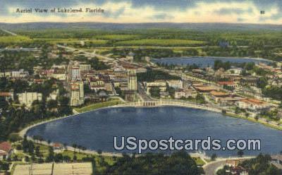 Lakeland, Florida Postcard     ;     Lakeland, FL