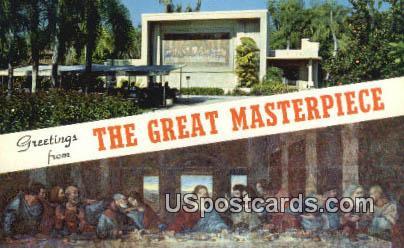 Great Masterpiece, Last Supper - Lakeland, Florida FL Postcard