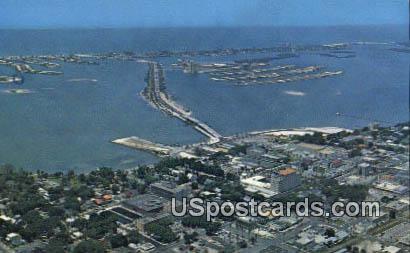 Downtown - Clearwater Beach, Florida FL Postcard