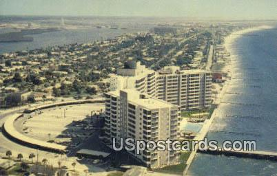 Mandalay Shores Apartments - Clearwater Beach, Florida FL Postcard