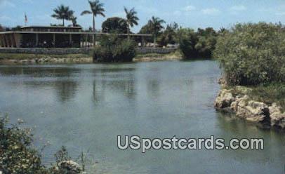 Royal Palm Station - Everglades National Park, Florida FL Postcard