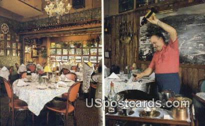 Old Spain Restaurant & Lounge - Hollywood, Florida FL Postcard