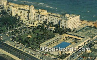 Hollywood Beach Hotel, Golf Club - Florida FL Postcard