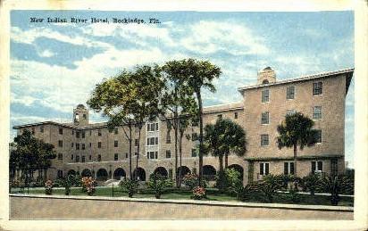 Indian River Hotel - Rockledge, Florida FL Postcard