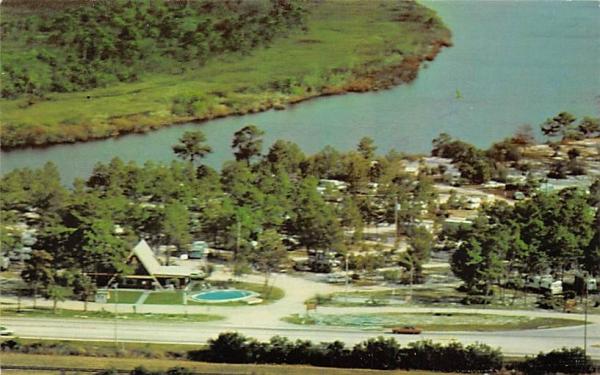 Tampa South KOA Kampground Ruskin, Florida Postcard