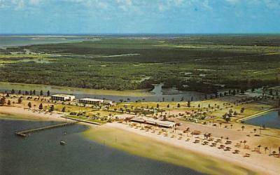 Bahia Beach Ruskin, Florida Postcard