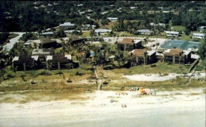 Sanibal Beach Club - Sanibel Island, Florida FL Postcard