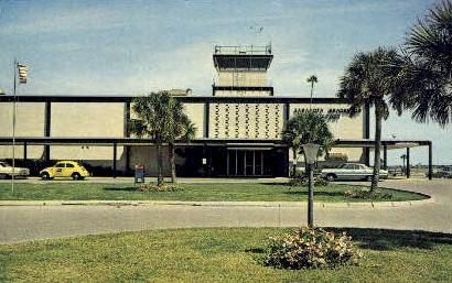 Bradenton Airport - Sarasota, Florida FL Postcard