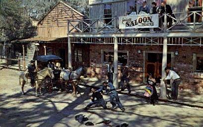 Six Gun Territory - Silver Springs, Florida FL Postcard