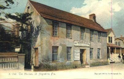 The Museum - St Augustine, Florida FL Postcard