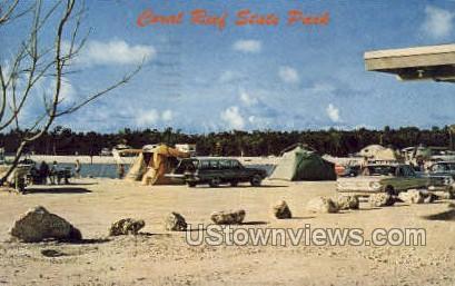 Coral Reef State Park - St Augustine, Florida FL Postcard