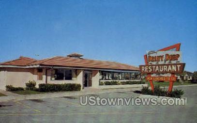 Briny Deep Restaurant - St Augustine, Florida FL Postcard