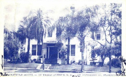 Idlewild Hotel - St Petersburg, Florida FL Postcard