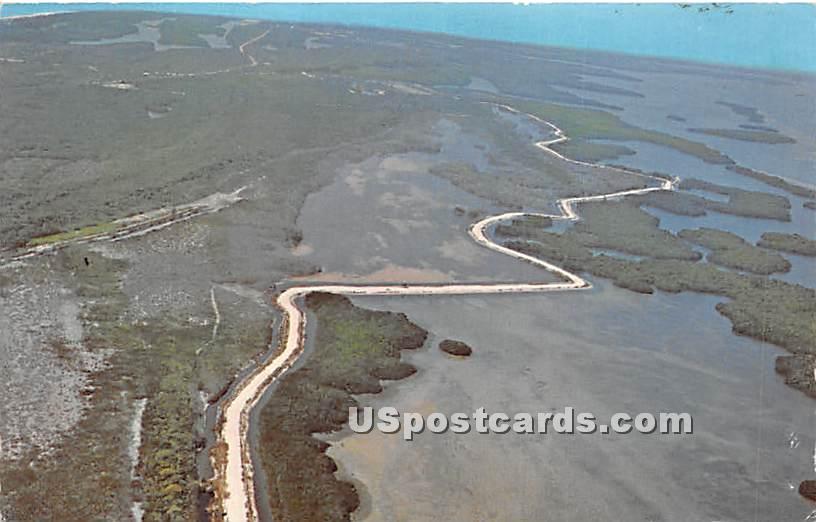 JN Ding Darling National Wildlife Refuge - Sanibel Island, Florida FL Postcard