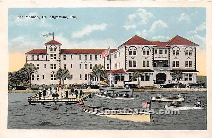 The Monson - St Augustine, Florida FL Postcard