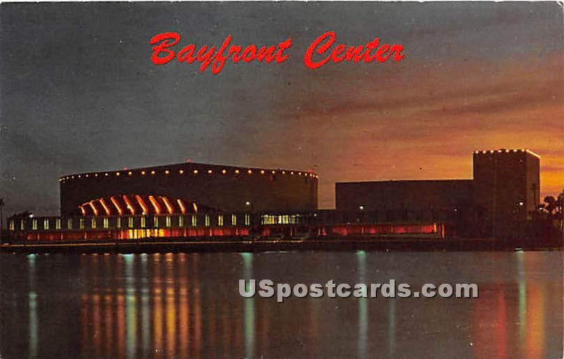 $5 Million Bayfront Center - St Petersburg, Florida FL Postcard