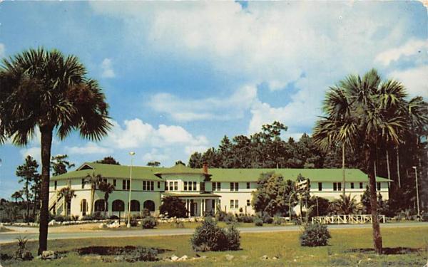 Putnam Lodge Shamrock, Florida Postcard
