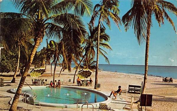 Island Inn Sanibel Island, Florida Postcard