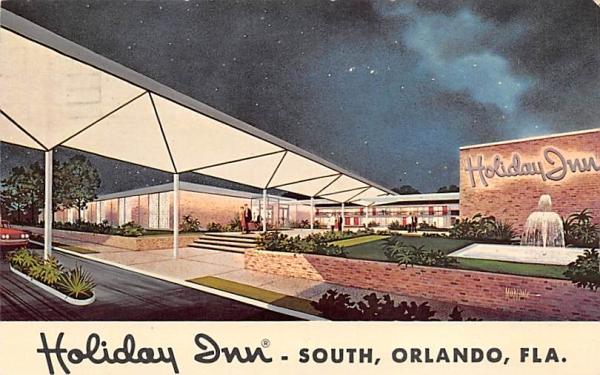 Holiday Inn South Orlando, Florida Postcard