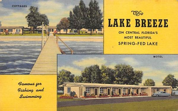 The Lake Breeze St Cloud, Florida Postcard