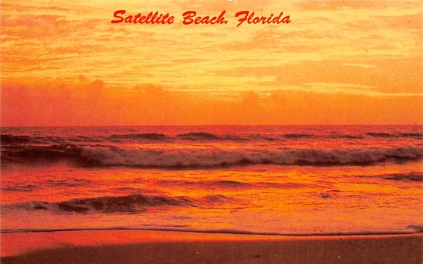 Satellite Beach, FL, USA Florida Postcard