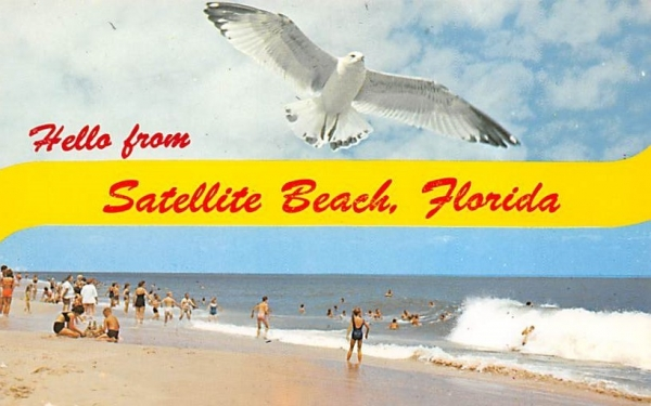 Hello from Satellite Beach, FL, USA Florida Postcard