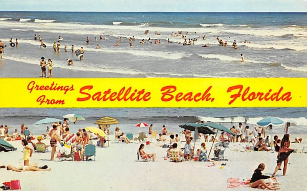 Greetings from Satellite Beach, FL, USA Florida Postcard