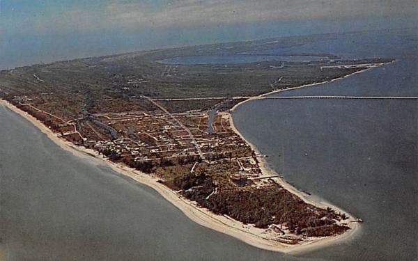 Aerial View of Tropical Sanibel Island, FL, USA Florida Postcard