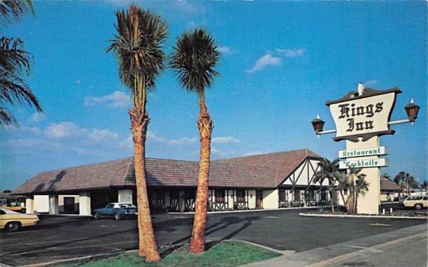 King's Inn  Sun City Center, Florida Postcard