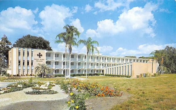 Holy Name Priory and Academy San Antonio, Florida Postcard