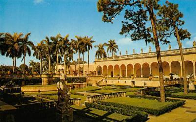 18th Century Asolo Theatre  Sarasota, Florida Postcard