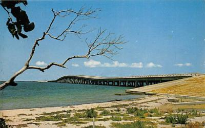 The New Bridge to Tropical Sanibel Island, FL, USA Sanibel Isalnd, Florida Postcard