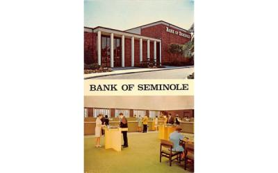 Bank of Seminole Florida Postcard