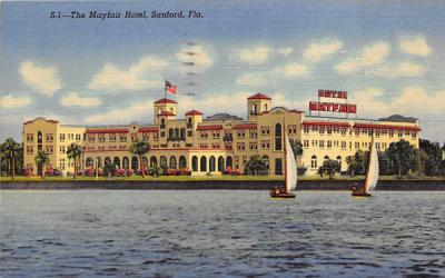 The Mayfair Hotel Sanford, Florida Postcard