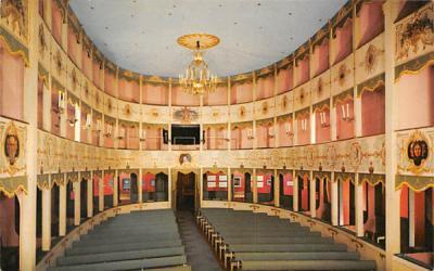 18th Century Asolo Theater Sarasota , Florida Postcard