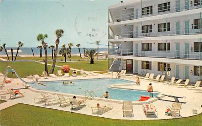 Coral Reef Motor Inn St Petersburg, Florida Postcard