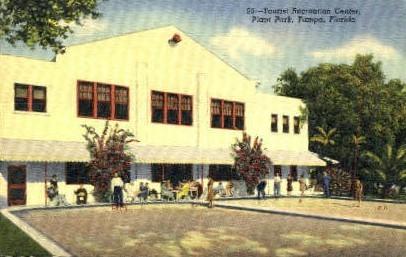 Tourist Recreation Center - Tampa, Florida FL Postcard